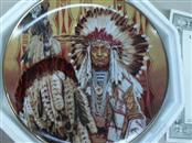 FRANKLIN MINT Plate Chief of the Piegon Blackfoot